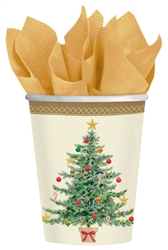 Classic Victorian 9oz Paper Cups | Party Supplies