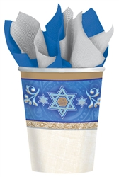 Judaic Traditions 9oz. Paper Cups | Party Supplies