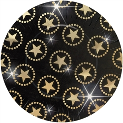"Star Attraction 10-1/2"" Round Metallic Plates 