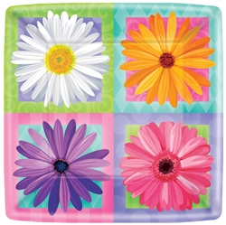 "In Bloom 10"" Square Plates 