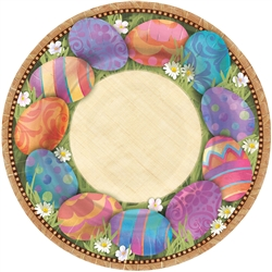 "Easter Elegance Round 10-1/2"" Plates 
