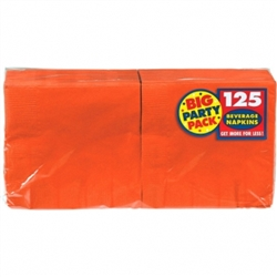 Orange Peel Beverage Napkins 125 ct | Party Supplies