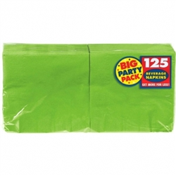 Kiwi Big Party Packs Beverage Napkins |  Party Supplies