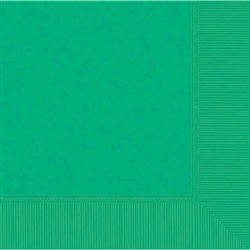 Festive Green 3-Ply Beverage Napkins - 50ct | Party Supplies