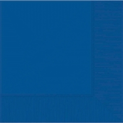 Royal Blue 3-Ply Beverage Napkins | Party Supplies