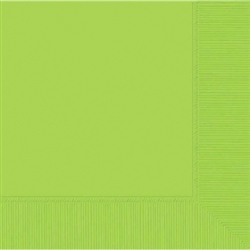 Kiwi 3-Ply Beverage Napkins | St. Patrick's Day Tableware