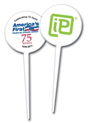 Custom Imprinted Plastic Food Picks