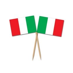 Italian Flag Picks