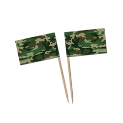Camo Flag Picks
