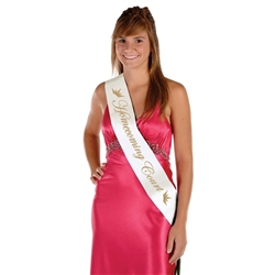 Homecoming Court Satin Sash