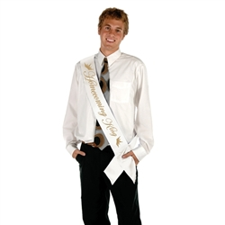 Homecoming King Satin Sash
