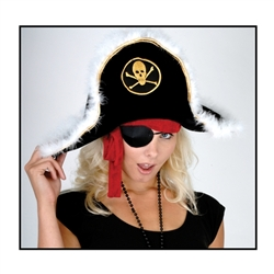 Child Plush Pirate Captain's Hat