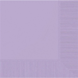 Lavender 2-Ply Beverage Napkins | Party Supplies