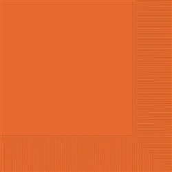 Autumn Warmth 2-ply Orange Beverage Napkins | Party Supplies