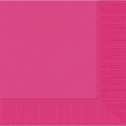 Pink 2-Ply Beverage Napkins | Party Supplies