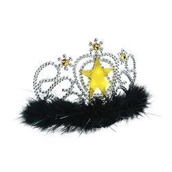 Light-Up Star Feather Tiara