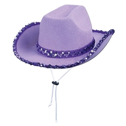 Sequin Cowgirl Hat