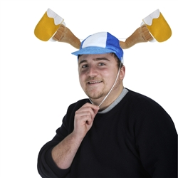 Plush Oktoberfest Mugs Caps