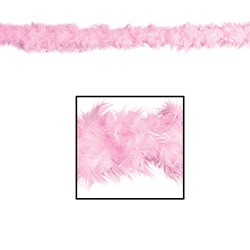 Pink Fancy Feather Boa