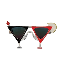 Martini Glass Fanci-Frame Sunglasses