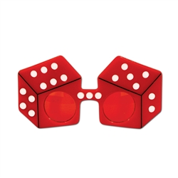 Red Dice Fanci-Frame Sunglasses