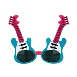 Guitar Fanci-Frame Sunglasses