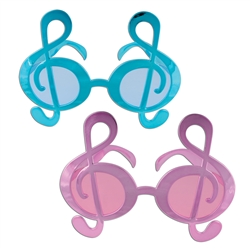Metallic G Clef Fanci-Frame Sunglasses