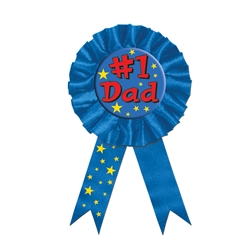 #1 Dad Award Ribbon