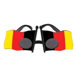 German Flag Fanci-Frame Sunglasses