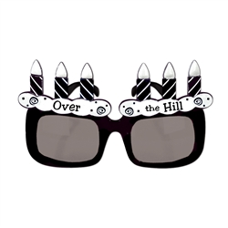 Over-The-Hill Fanci-Frame Sunglasses