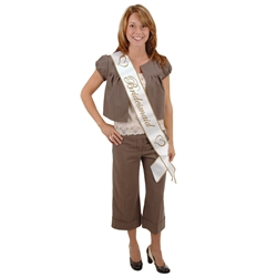 Bridesmaid Satin Sash