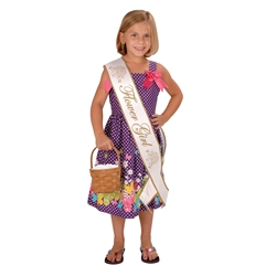 Flower Girl Satin Sash