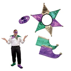 Mardi Gras Jester Set | Party Supplies