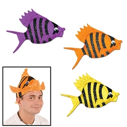 Luau Fish Hats