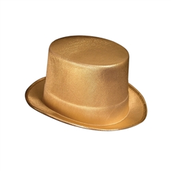 Gold Theatrical Top Hat | Party Supplies