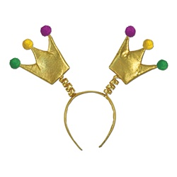 Mardi Gras Crown Boppers | Party Supplies