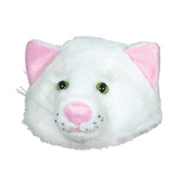 Plush Cat Head-Hat