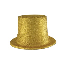 Glittered Top Hat | Party Supplies