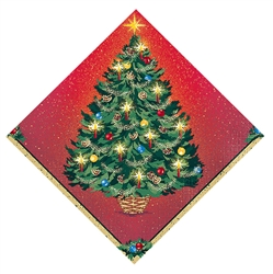 Warmth of Christmas Beverage Napkins | Party Supplies