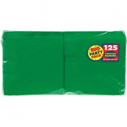 Festive Green 2-Ply Luncheon Napkins - 125ct. | Party Supplies