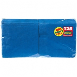 Bright Royal Blue Big Party Pack Luncheon Napkins | Party Supplies