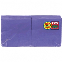 New Purple 2-Ply Luncheon Napkins - 125ct. | Party Supplies
