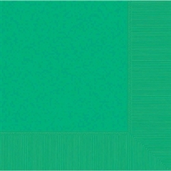 Festive Green 3-Ply Luncheon Napkins - 50ct | Party Supplies