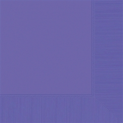 New Purple 3-Ply Luncheon Napkins - 50ct | Party Supplies