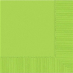 Kiwi 3-Ply Luncheon Napkins | St. Patrick's Day Tableware