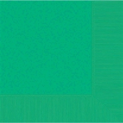 Festive Green 2-Ply Luncheon Napkins - 50ct | Party Supplies