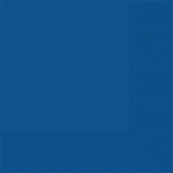 Bright Royal Blue 2-Ply Luncheon Napkins | Party Supplies