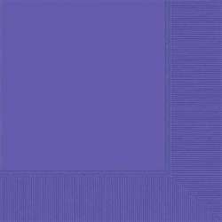 New Purple 2-Ply Luncheon Napkins - 50ct | Party Supplies