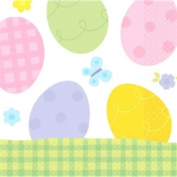 Eggstravaganza 2-Ply Luncheon Napkins | Party Supplies