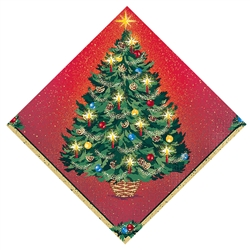 Warmth of Christmas Luncheon Napkins | Party Supplies